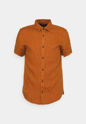 CLASSIC SHORT - Shirt - tobacco