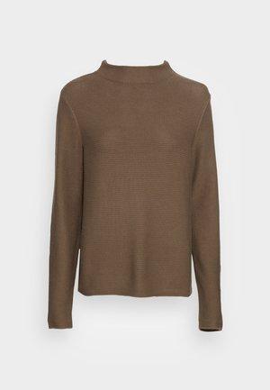 LONGSLEEVE - Svetr - nutshell brown