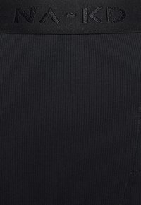 NA-KD - ZIA - Leggings - Trousers - black - 5
