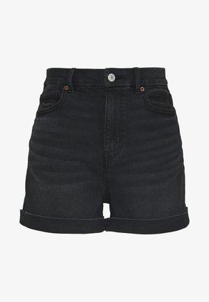CURVY MOM  - Jeans Shorts - black wash