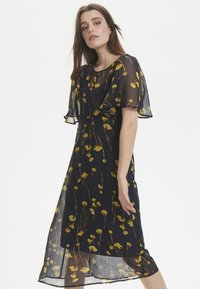 Soaked in Luxury - Maxi dress - navy/yellow - 0