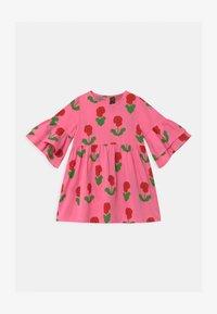 Mini Rodini - VIOLAS WOVEN FLARED SLEEVE  - Košilové šaty - pink - 0
