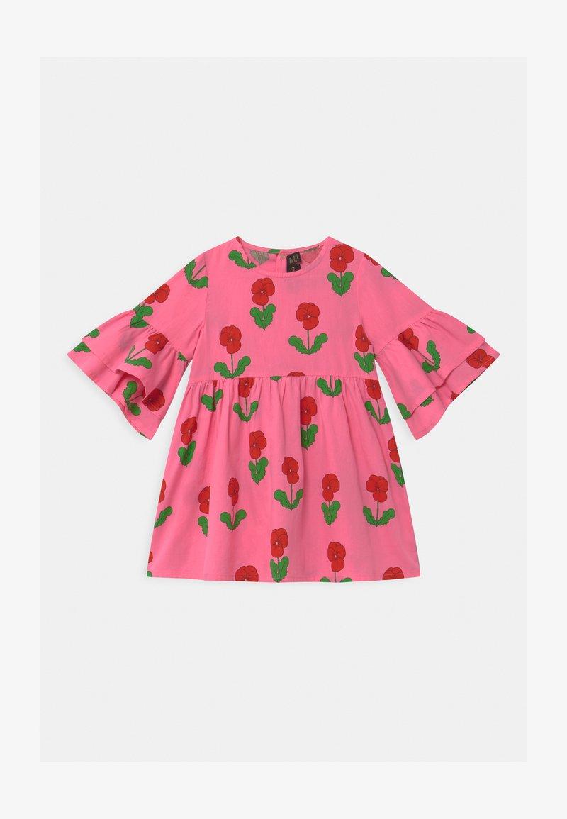 Mini Rodini - VIOLAS WOVEN FLARED SLEEVE  - Košilové šaty - pink