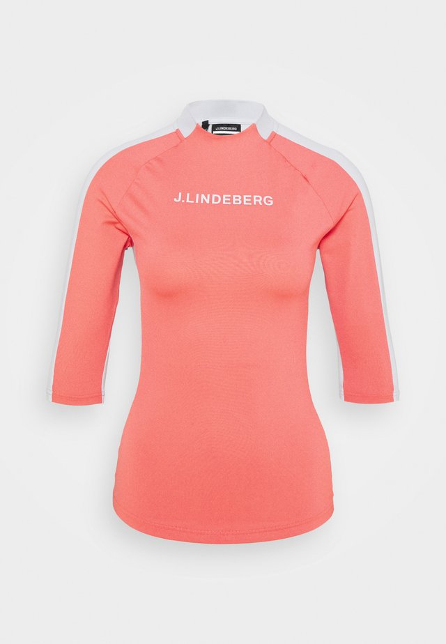 MARGOT SOFT COMPRESSION - T-shirt sportiva - tropical coral