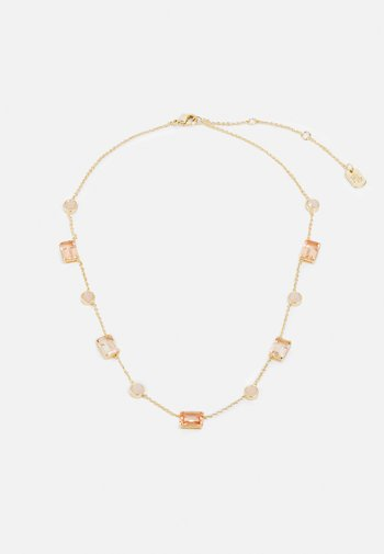 STONE COLLAR - Collier - gold-coloured/pink