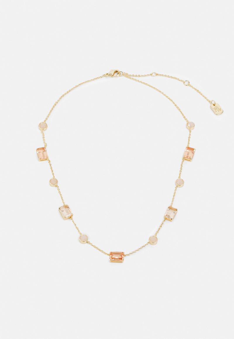 Lauren Ralph Lauren - STONE COLLAR - Kaulakoru - gold-coloured/pink