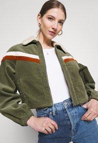 Cotton On - RETRO JACKET - Light jacket - khaki - 3