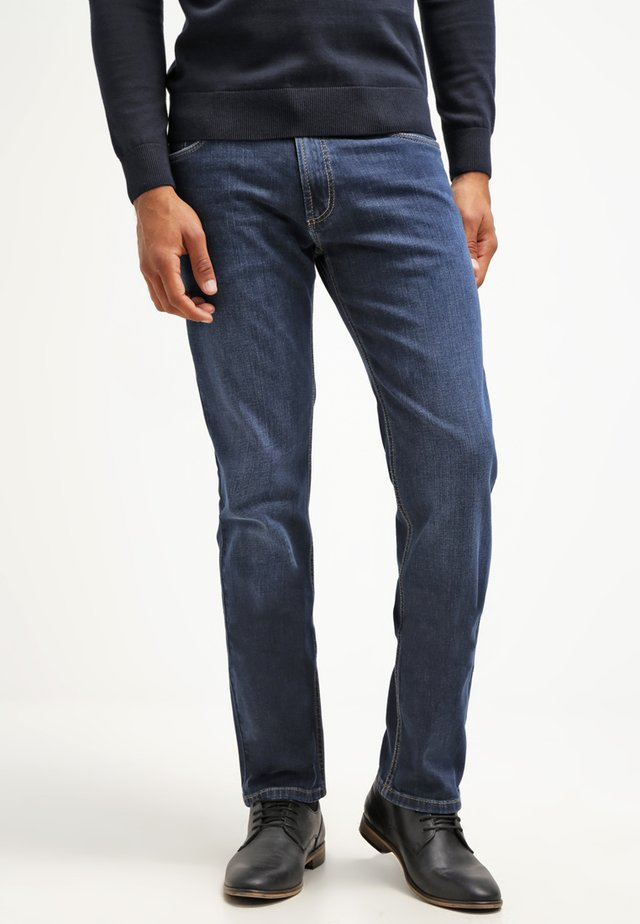 NEVADA - Jeans a sigaretta - blue denim