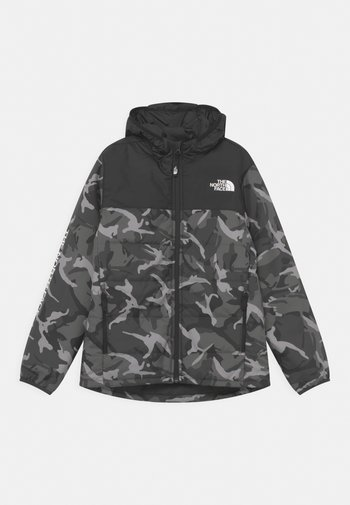 PRINTED REACTOR INSULATED UNISEX - Giacca invernale - asphalt grey