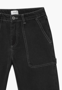 Grunt - WIDE WORKER - Relaxed fit jeans - night black - 4