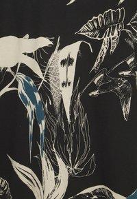 Jack & Jones - JORMONET TEE CREW NECK - Print T-shirt - black - 2