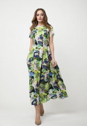 SOMMER - Day dress - hellgrün/lila