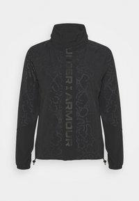 Under Armour - RUSH PRINT - Training jacket - black - 4