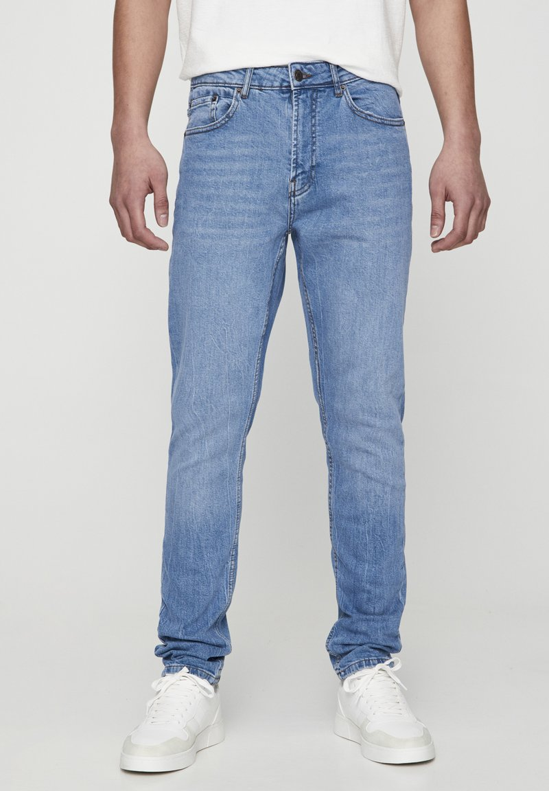 PULL&BEAR - Jeans slim fit - blue denim