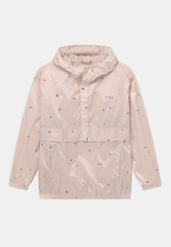 ICE CREAM DOTS - Vodotěsná bunda - pink