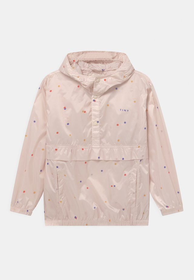 ICE CREAM DOTS - Impermeable - pink