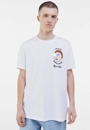 RICK &AMP - Print T-shirt - white