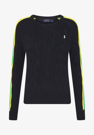 OVERSIZED CABLE - Jumper - black multi