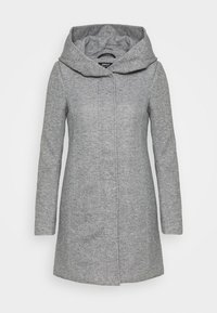 ONLY Petite - ONLSEDONA LIGHT COAT PETITE  - Kort kåpe / frakk - light grey melange - 0
