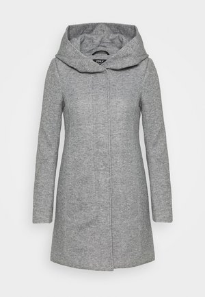 ONLSEDONA LIGHT COAT PETITE  - Kort kåpe / frakk - light grey melange