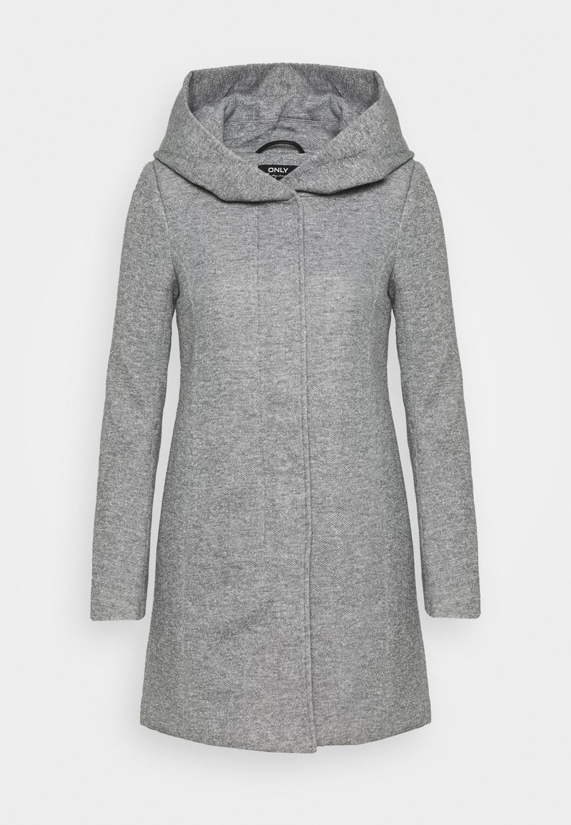 ONLY Petite - ONLSEDONA LIGHT COAT PETITE  - Kort kåpe / frakk - light grey melange