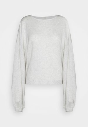 GOOD TO GO - Sweater - white heather