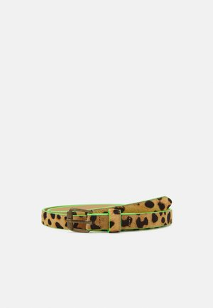BELT WITH ALL OVER ANIMAL PRINT - Belt - multicoloured
