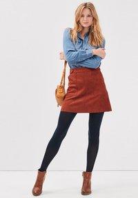 BONOBO Jeans - A-line skirt - marron cognac - 1