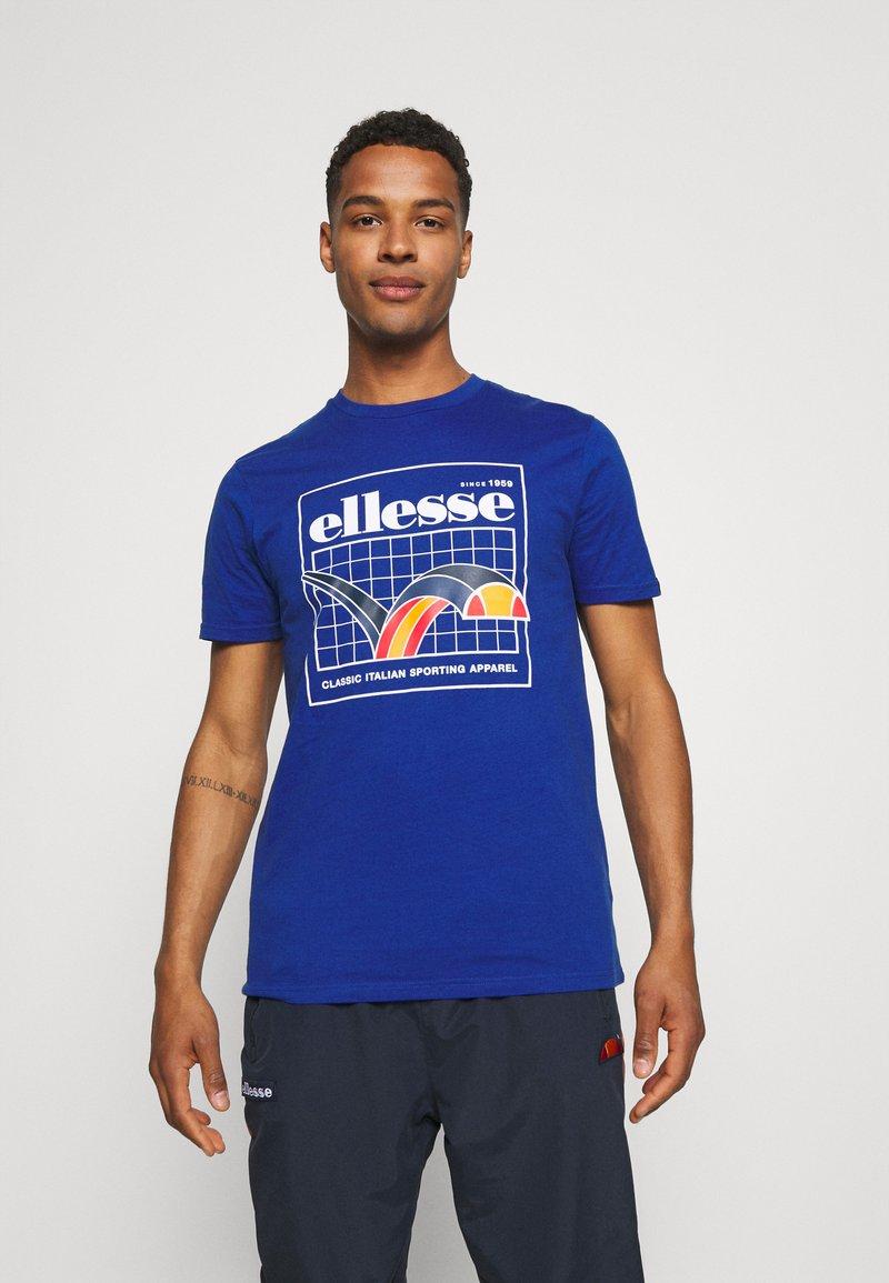 Ellesse - PARERI TEE - Print T-shirt - blue