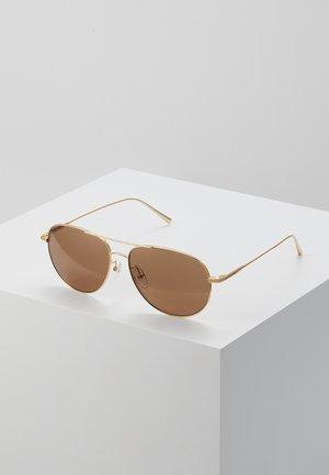 Sluneční brýle - gold