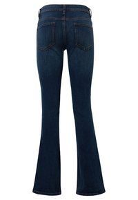 TOM TAILOR - JEANSHOSEN ALEXA - Bootcut jeans - dark stone blue denim - 1