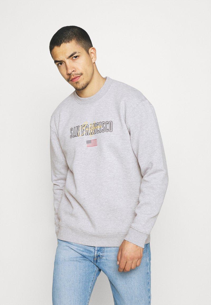 Nominal - SAN FRAN CREW - Sweatshirt - grey