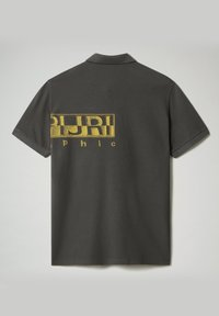 Napapijri - EALLAR - Polo shirt - dark grey solid - 4