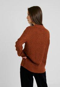 Object - Pullover - brown patina melange - 2