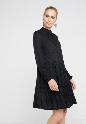 THE  GLAM DRESS - Žerzejové šaty - black