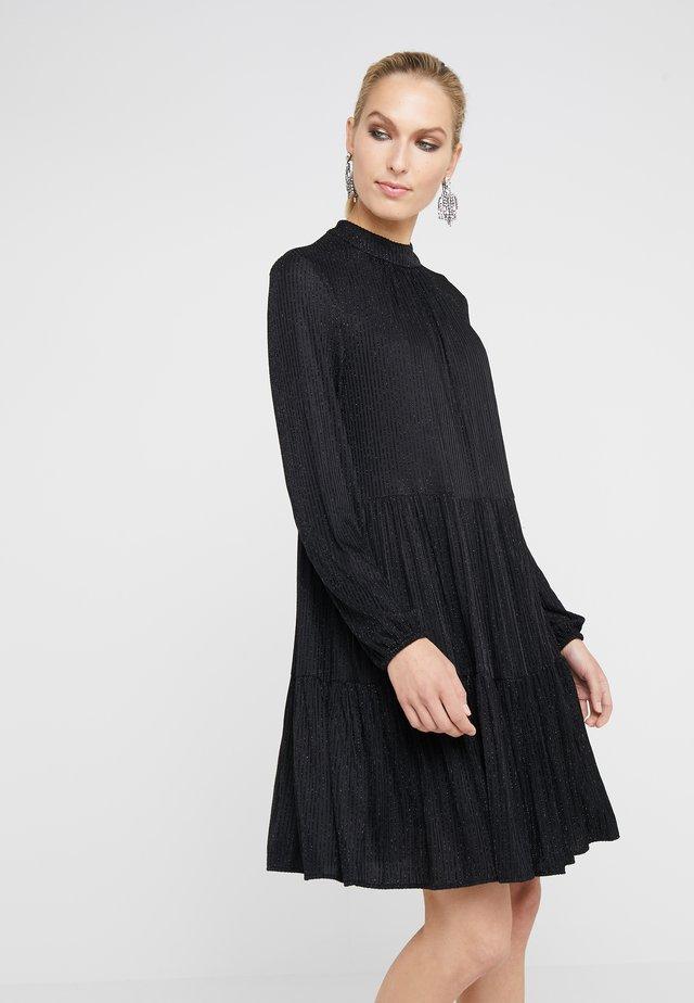 THE  GLAM DRESS - Sukienka z dżerseju - black