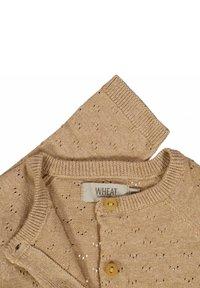 Wheat - MAJA - Cardigan - sand melange - 2