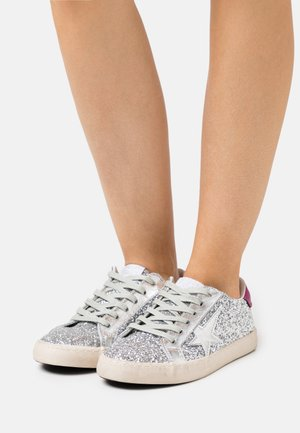 CITY - Trainers - glitter silver