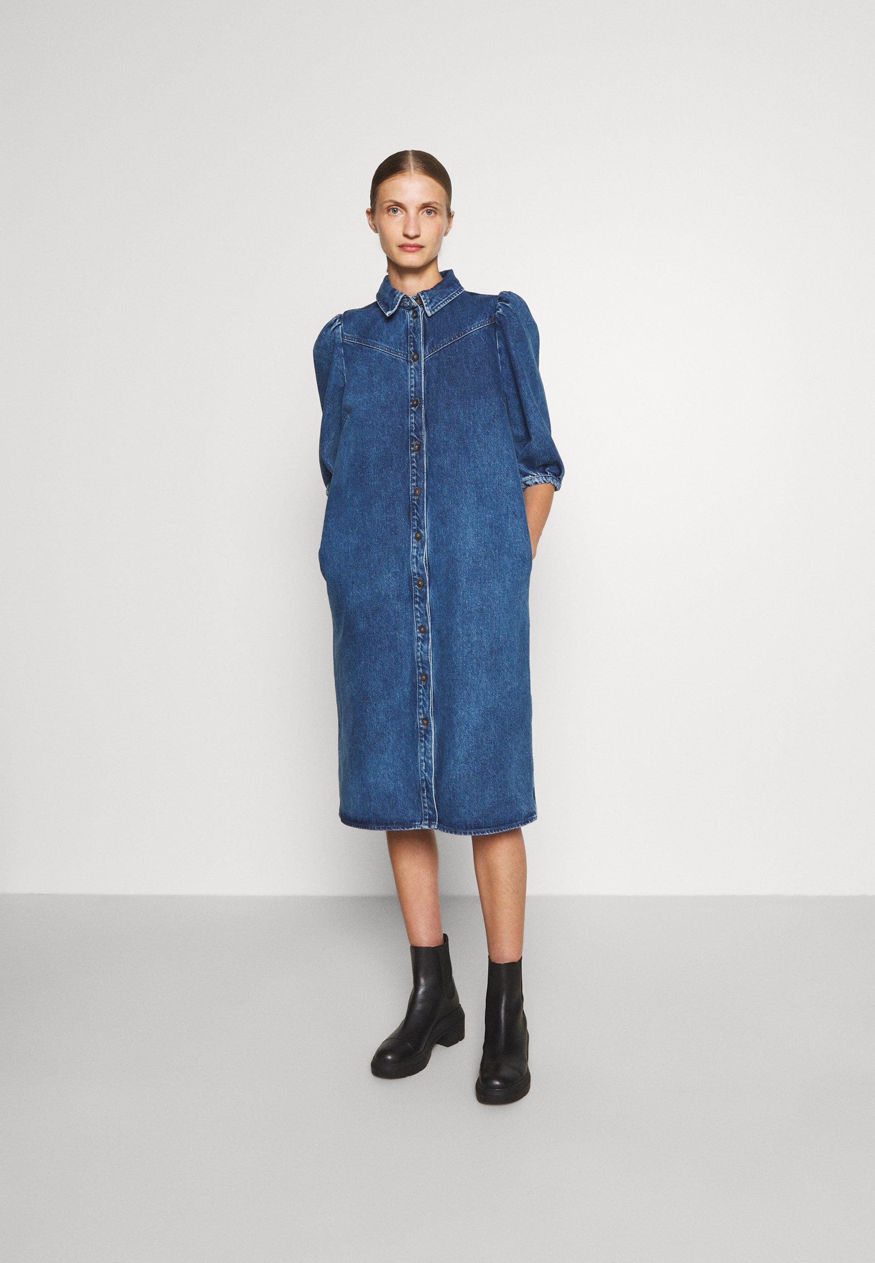 Women CORNFLOWER  - Denim dress