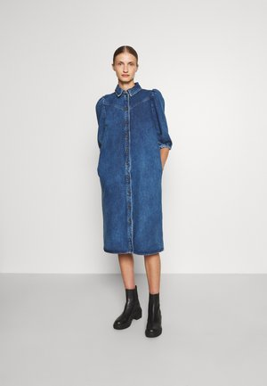 CORNFLOWER  - Denim dress - mid blue