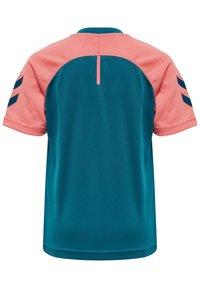 Hummel - ACTION  - Sports shirt - blue coral/tea rose - 2