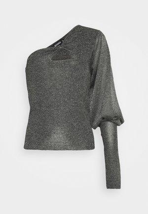 COTELLO ONE SHOULDER - Jumper - black