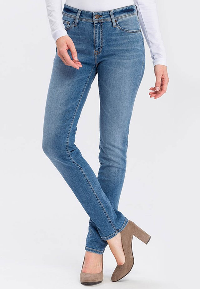 ANYA - Slim fit jeans - light mid blue