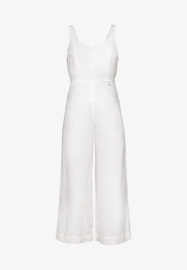 EDEN - Overall / Jumpsuit /Buksedragter - chalk white