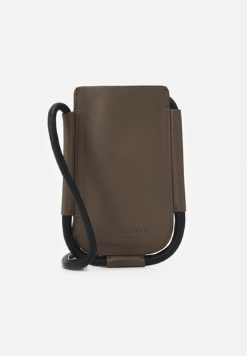 MOBILE POUCH - Phone case - deep taupe