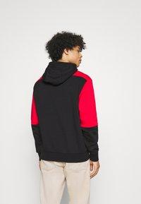 Nike Sportswear - AIR HOODIE - Hoodie - university red/black/white - 2