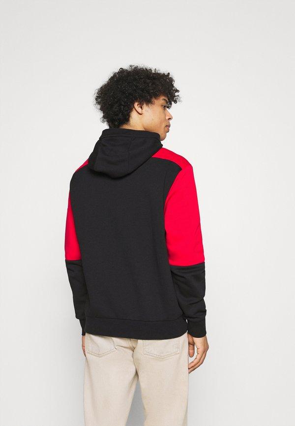 Nike Sportswear AIR HOODIE - Bluza z kapturem - university red/black/white/czerwony Odzież Męska XBAM