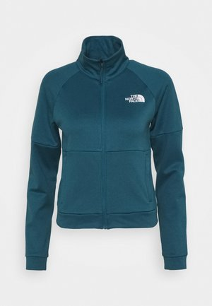 FULL ZIP JACKET - Fleecejakke - mallard blue