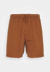 Kaotiko - BERMUDA BEACH TEJA - Denim shorts - brown - 0