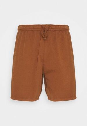 BERMUDA BEACH TEJA - Denim shorts - brown